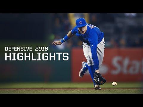 MLB Javier Baez Defensive Highlights 2016 Season (So Far) - Chicago Cubs