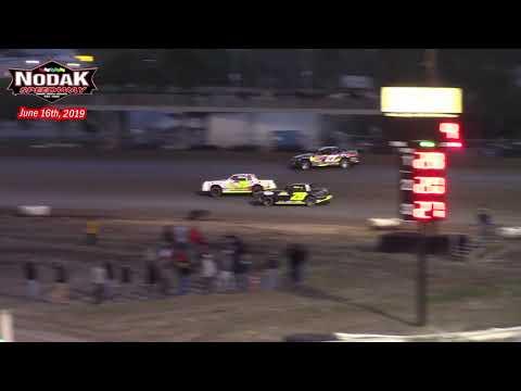 Nodak Speedway IMCA Stock Car A-Main (6/16/19)
