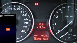 Carly for BMW coding the digital speedometer - iOS