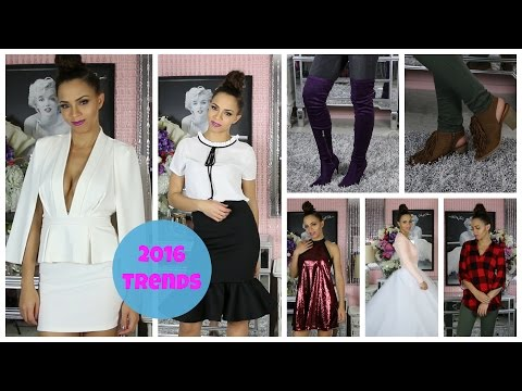 2016 Fashion Trends - Style Tips, Tops, Dresses, Shoes, Heels, Lace, Flats