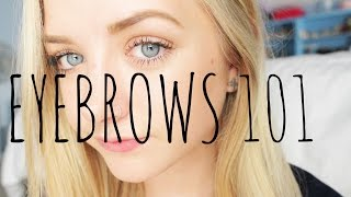 EYEBROWS 101 | Maddi Bragg Thumbnail