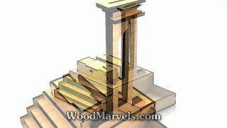 Halloween Guillotine Serving Tray: 3d Assembly Animation (1080hd)