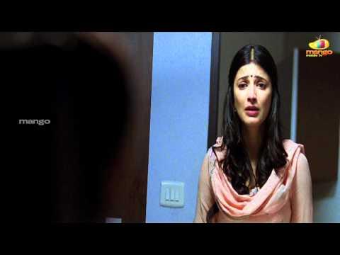 Shruti Haasan angry with dhanush | 3 movie scenes