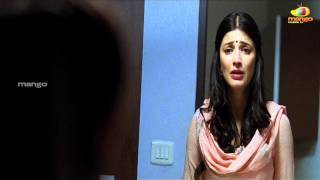 Shruti Haasan angry with dhanush | 3 movie scenes