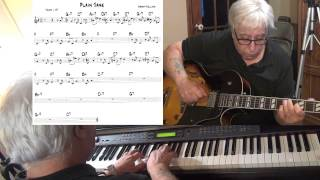 Plain Jane - jazz guitar & piano cover ( Sonny Rollins ) Yvan Jacques