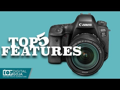 New Canon EOS 6D Mark II TOP 5 Features