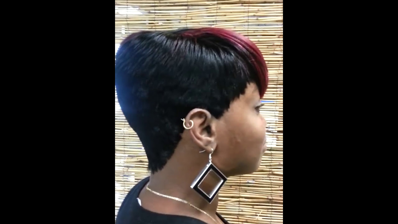 We love short cuts by Jada quick weaves - YouTube