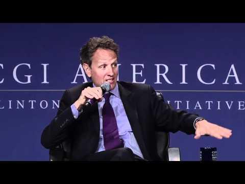 A Conversation Between Pres. Clinton and Sec. Geithner at CGI America