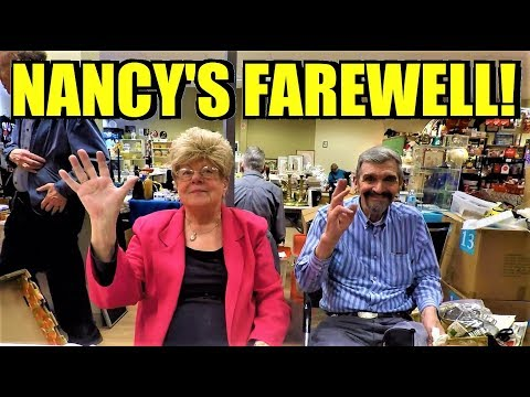 Ep140: NANCY'S RETIRING!!!! - Regina Centennial Mall Antique Collector's Market