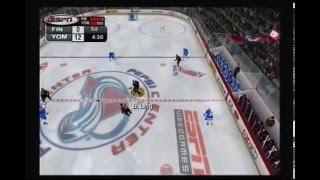 ESPN NHL 2K5 YOMS vs FINLAND arcade 5 man teams