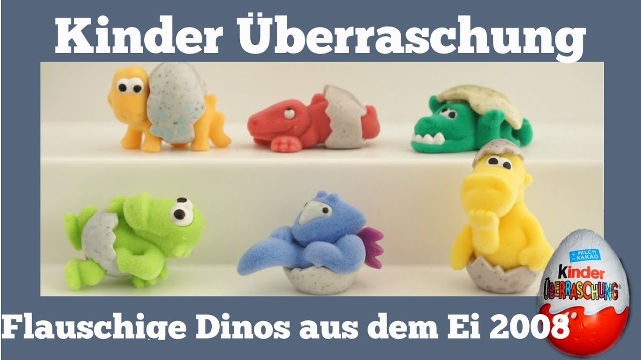 Toys R Us Kinder Küche Flauschige Dinos Aus Dem Ei 2008 Kinder Surprise Egg