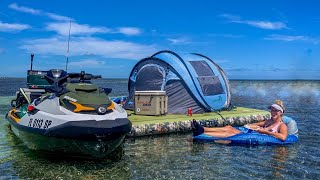 Ocean Camping and Lobṡter Diving in Florida | Catch Clean Cook on Our Own Private Island