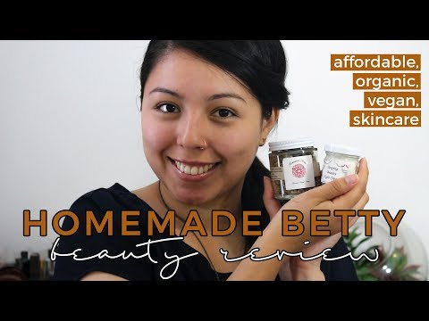 Homemade Betty Review | Organic, Fair Trade & Vegan Beauty