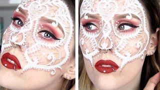 Download lagu Lace Skull Mask Makeup Tutorial