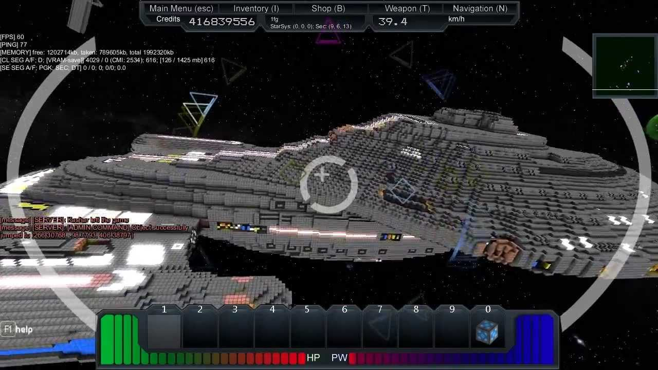 Starmade ep308 exploring voyager intrepid class youtube starmade ep308 exploring voyager intrepid class sciox Image collections