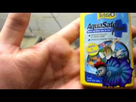 Aquarium Product Review Aquasafe Water Conditioner Youtube