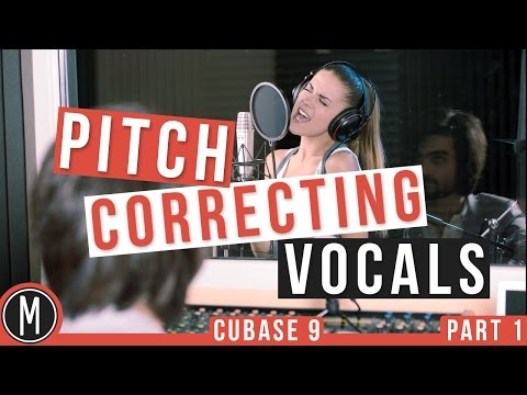 Pitch Correcting Vocals with VARIAUDIO in CUBASE 9 – mixdown.online