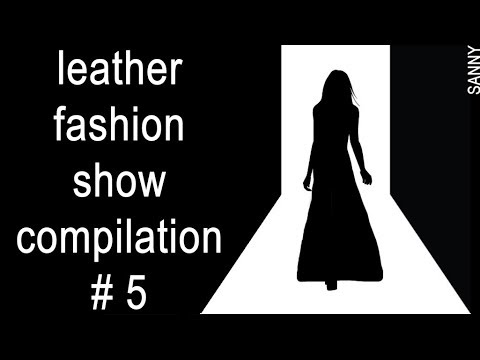 Leather fashion show compilation № 5