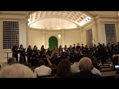 """Lift Every Voice and Sing""  / 2017 Paideia School Massed HS Choruses"