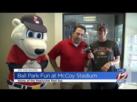 PawSox Public Address Announcer // View From The Press Box