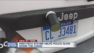 New device helps slow down police chases