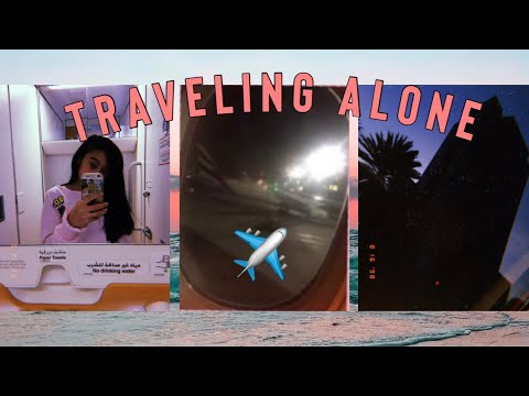VLOG : TRAVELING ALONE FOR THE FIRST TIME! // Philippines to UAE
