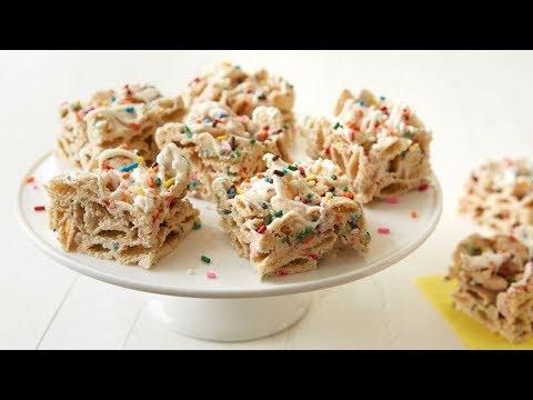 NoBake Birthday Cake Bars Betty Crocker Recipe YouTube