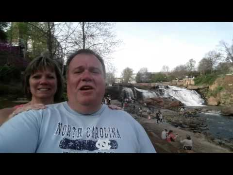 Waterfall Tour- Reedy River Falls With Pisgah Forest Gem Mine