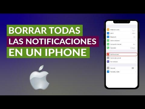 Cómo Borrar Todas las Notificaciones en un iPhone iOS Fácilmente
