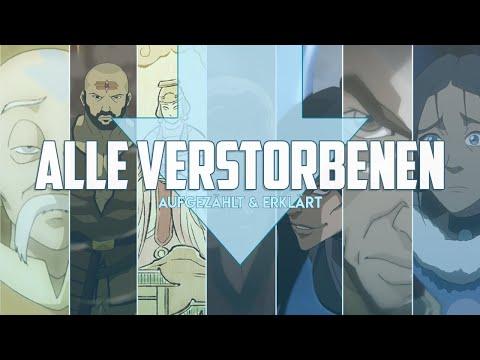 ALLE 58 Verstorbenen Charaktere Aus AVATAR & KORRA Aufgezählt UND Erklärt!