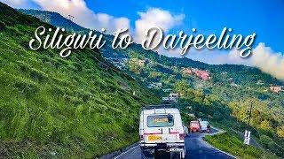 NJP Siliguri to Darjeeling by Car via Rohini Road | Toy Train Passing side by side | Darjeeling tour