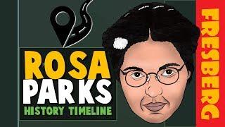 Black History Month: Rosa Parks Biography Facts | Educational Cartoon for Students