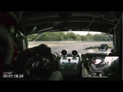 Pagani Zonda R ★ Record Nürburgring Lap w/ Marc Basseng [2010] [HD]