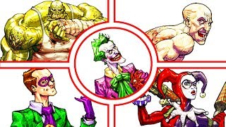 Batman Arkham Asylum All the Patient Interview Tapes