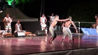 "Le groupe folklorique ""Facia"" du Burkina Faso au jardin public (partie2)"