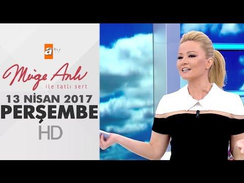 Müge Anlı İle Tatlı Sert 13 Nisan 2017 Perşembe - 1822. Bölüm - atv