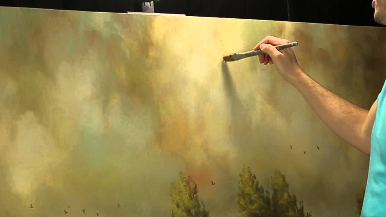 Creating subtle shadows in an atmospheric sky by artist Tim Gagnon ...