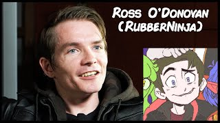 Hand Drawn: Ross O'Donovan (RubberNinja) - Interview Clip