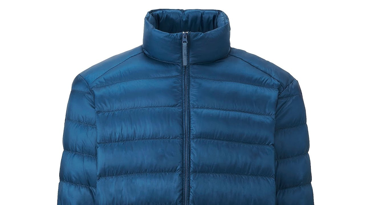 uniqlo men ultra light down jacket blue doudoune ultra. Black Bedroom Furniture Sets. Home Design Ideas
