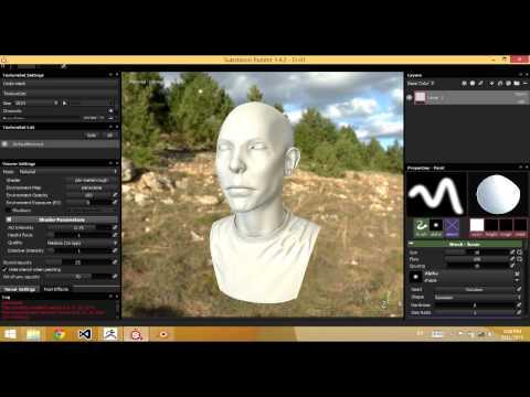 ARTtech: Modern 3D game art workflow demo