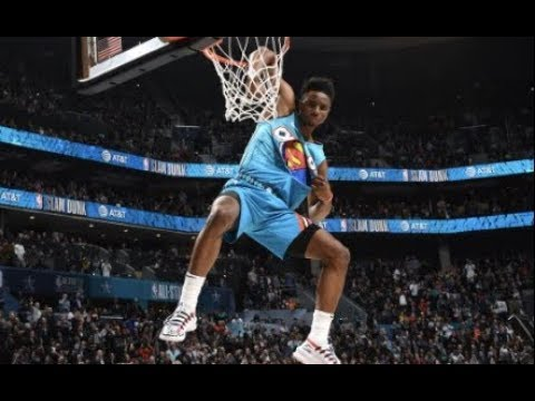 Diallo SOARS Over Shaq For An Unforgettable Perfect Score!   2019 NBA All-Star