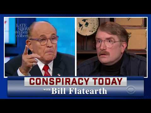 Rudy Giuliani Appears On 'Conspiracy Today'
