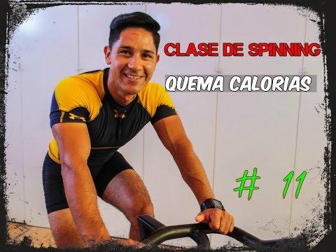 Clase de Spinning en Español completa #11 Quema calorías música electrónica