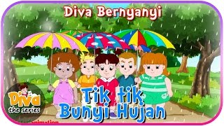 Tik Tik Bunyi Hujan | Diva bernyanyi | Diva The Series Official