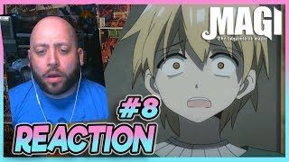 """Magi Labyrinth Of Magic Episode 8 REACTION """"A Broken Promise"""""""