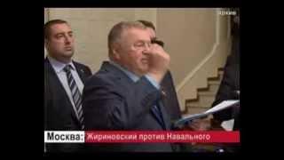 Владимир Жириновский требует снять кандидатуру Навального с выборов мэра Москвы