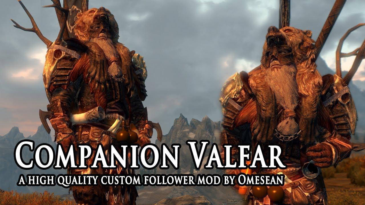 Companion Valfar at Skyrim Nexus - mods and community