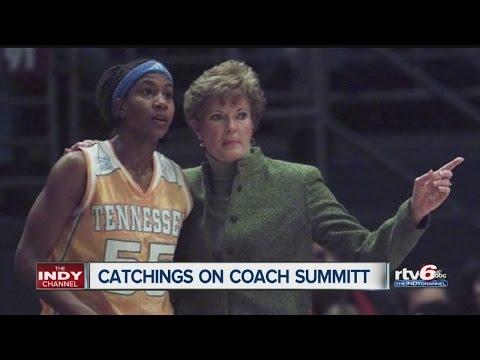 Tameka Catchings talks about death of Coach Pat Summitt