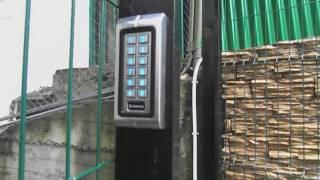 Контролер с кодонаборной панелью, замок, ящик(Tantos TS-KBD-EM-WP Metal + Шериф-3В (НО) + ящик в место + бесперебойное питание., 2017-01-24T11:11:28.000Z)