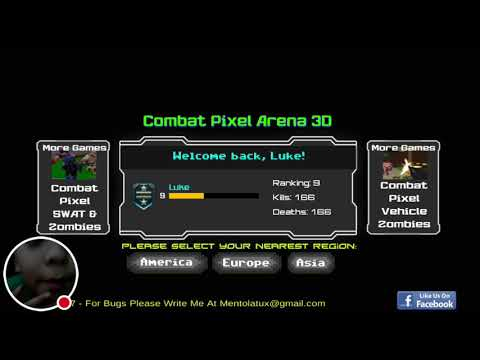 My Combat Pixel Arena 3D Stream And Shout Outs